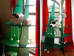 Climbable Cat Christmas Tree