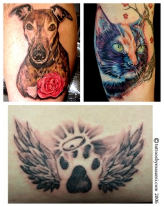Tattoos: Pet Memorials